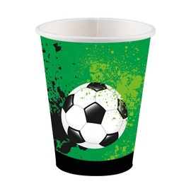 Amscan Goal Getter Cups 250ml 8pcs