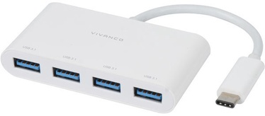 Vivanco 4-port USB Hub 45384