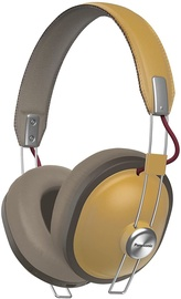 Ausinės Panasonic RP-HTX80BE Bluetooth Over-Ear Beige, belaidės
