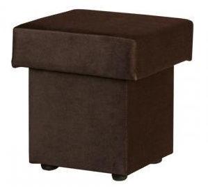 Bodzio Pouf With Storage Velor Brown