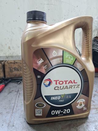 Машинное масло Total 0W20 Quartz Ineo Xtra First 0W - 20, синтетический, для легкового автомобиля, 5 л