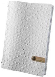 Dag Style Fashion Menu Cover 21 x 29.7cm White