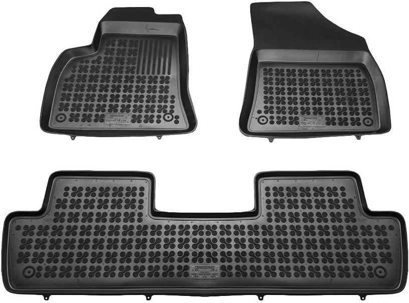 Резиновый автомобильный коврик REZAW-PLAST Peugeot 5008 02/2010, 3 шт.