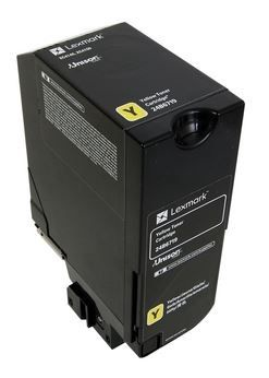 Lazerinio spausdintuvo kasetė Lexmark 24B6719 Toner Cartridge Yellow