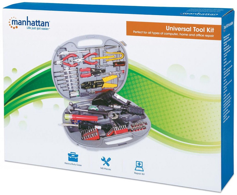 Manhattan Universal Tool Kit (145 pcs)