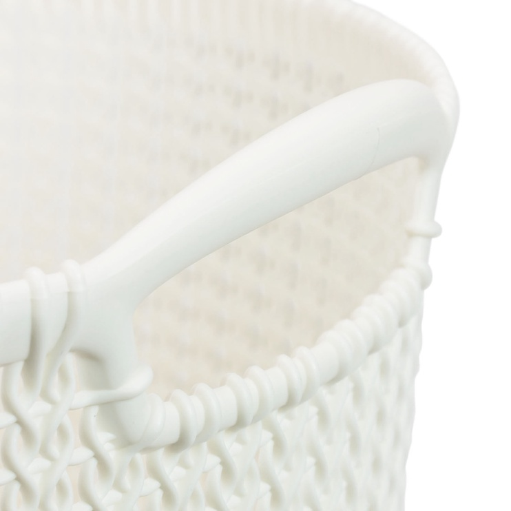 Curver Knit Round L White