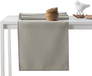 AmeliaHome Empire AH/HMD Tablecloth Set Cappuccino 115x250/30x250 2pcs