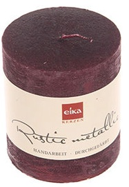 Eika Rustic Metallic 8x7cm Bordo