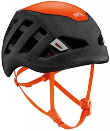 Petzl Helmet Sirocco 53-61cm Black/Orange