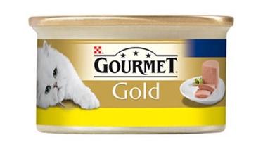 Konservuotas ėdalas katėms Gourmet Gold, su vištiena, 85 gr