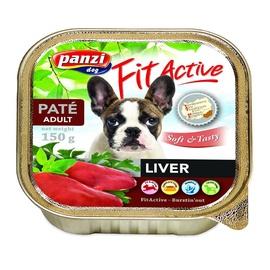 Konservuotas ėdalas šunims Fit Active Soft & Tasty, su kepenimis, 150 gr