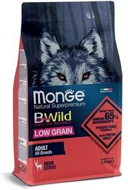 Сухой корм для собак Monge BWild Low Grain Adult Deer, 2.5 кг