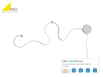 Trio Snake 226812031 20W LED White