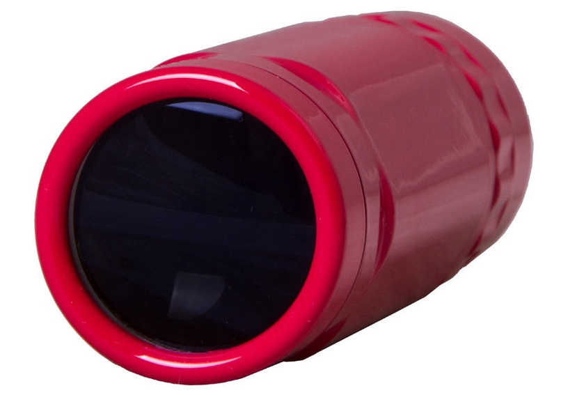 Levenhuk Rainbow 8x25 Monocular Red Berry
