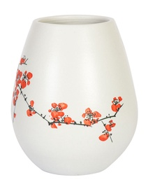 Home4you Yoko Ceramic Vase Flowers Small White