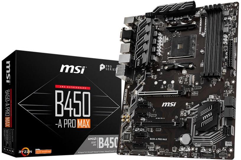 Mātesplate MSI B450-A Pro Max