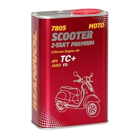 Mannol Scooter 2-Takt Premium TC+ 0W/30 Engine Oil 1l