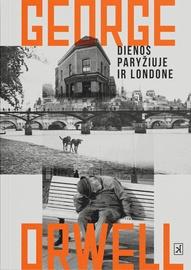 Knyga Dienos Paryžiuje ir Londone