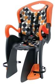 Детское кресло для велосипеда Author ABS-Tiger Relax 16240220, oранжевый/серый, задняя