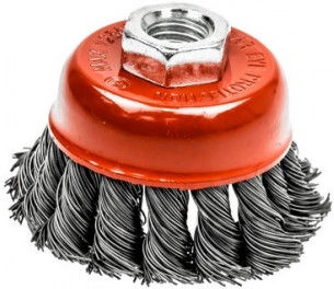 Ega Twisted Steel Wire Cup Brush 75mm