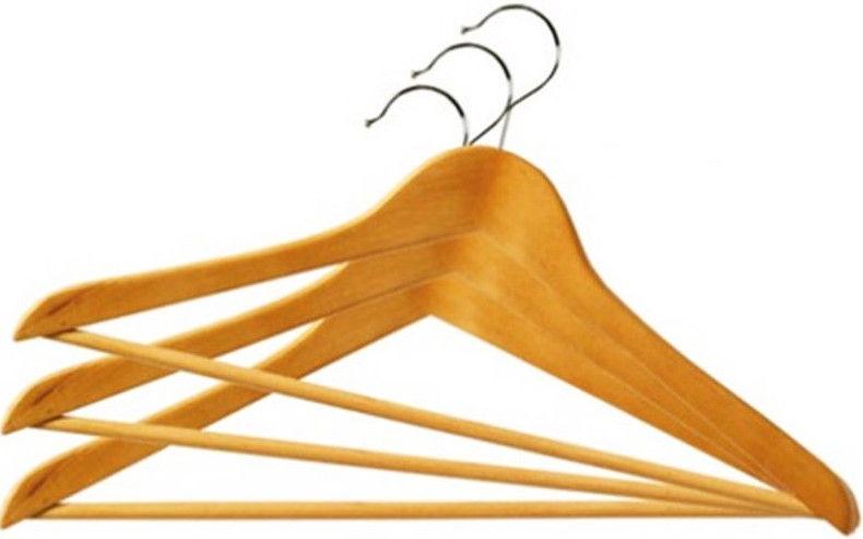 Ordinett Promo Hanger Set 3Pcs Wooden 1233120