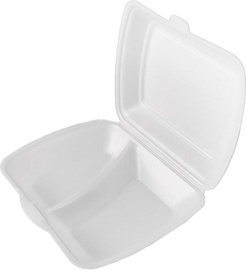 Arkolat Take-Out Boxes 1.35kg 2/4 White