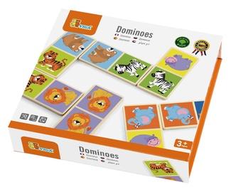 Stalo žaidimas Viga Wild Animals Dominoes 51307