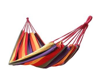 Šūpuļtīkls kokvilnas, krāsains, somā