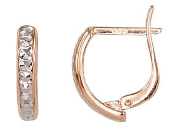 Diamond Sky Gold Earrings Brills XX