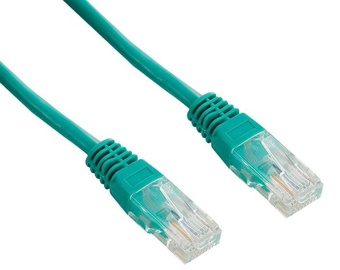 4World Cable Patch RJ45 Cat. 5e UTP 5m Green