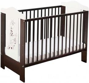 Minikid Ella Baby Bed 109 Venge/White Giraffe