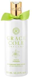 Grace Cole Moisturising Body Lotion 300ml Lily & Verbena