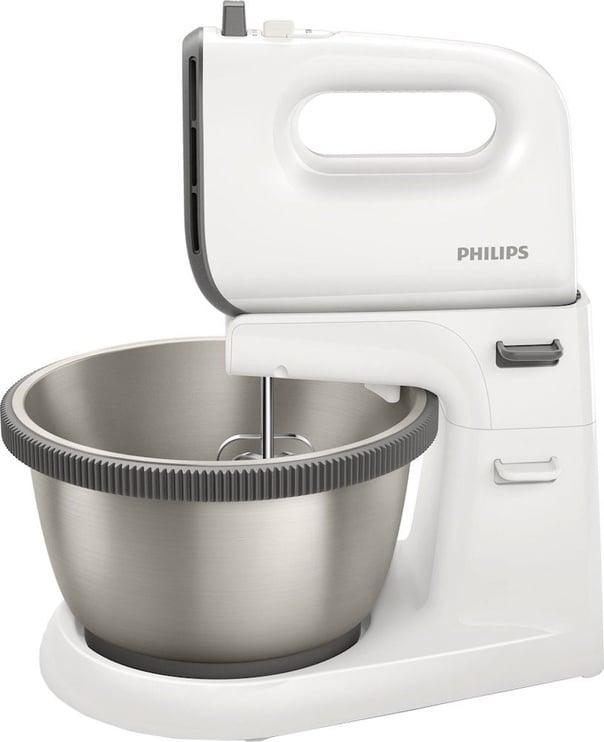Миксер Philips Viva HR3750/00, белый