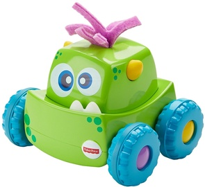 Interaktyvus žaislas Fisher Price Press 'N Go Monster Truck Green DRG15