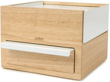 Umbra Stowit Jewelry Box Mini Wood