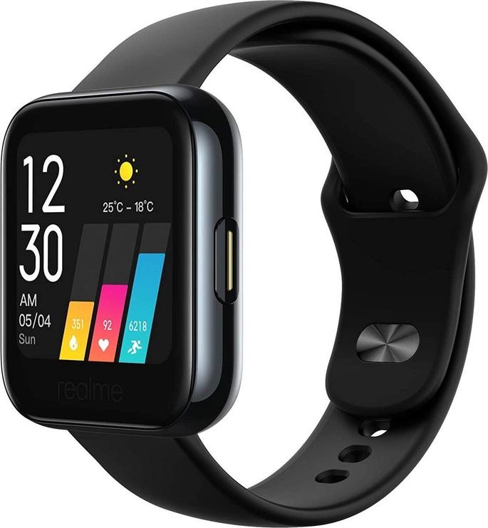 Išmanusis laikrodis Realme Watch 1 Black