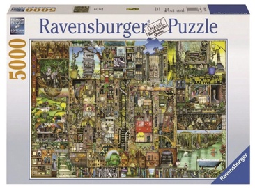 Dėlionė Ravensburger Puzzle Bizzare Town 5000pcs