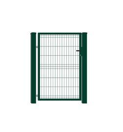 VĀRTI VIENVIRU 960X1500 MM RAL6005 W4466 (GARDEN CENTER)