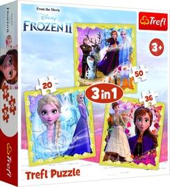 Dėlionė Frozen 2 3in1 34747, 406 dalių