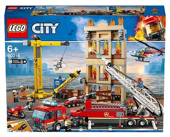 KONSTRUKTOR LEGO CITY FIRE 60216