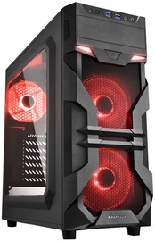 Sharkoon VG7 Window Mid-Tower Red