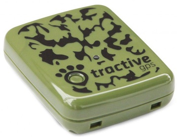 Tractive GPS Pet Tracking Device Hunters Edition Green