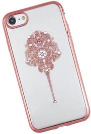 Beeyo Elegant Back Case For Samsung Galaxy S5 Transparent/Pink