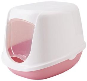 Savic Duchesse Cat Toilet 44.5x35.5x32cm White/Pink