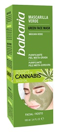 Babaria Cannabis Green Face Mask 100ml