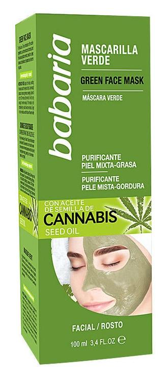Babaria Cannabis Green Face Mask 100ml