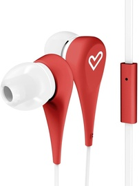 Energy Sistem Style 1+ In-Ear Earphones Red