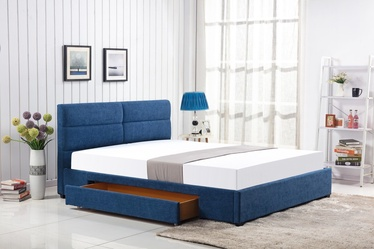 Halmar Bed Merida 160x200cm Blue