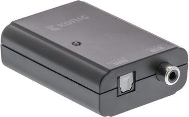 Konig Digital Audio Coverter 1 x S/PDIF - TosLink