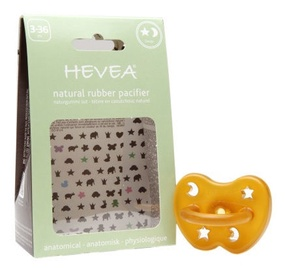 Hevea Star & Moon Anatomical Pacifier 3-36m